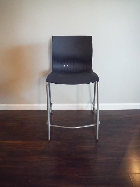 ERG Webby Guest Chair- Black & Herman Miller Aside Guest Chair Grey/Purple - Office Furniture ...