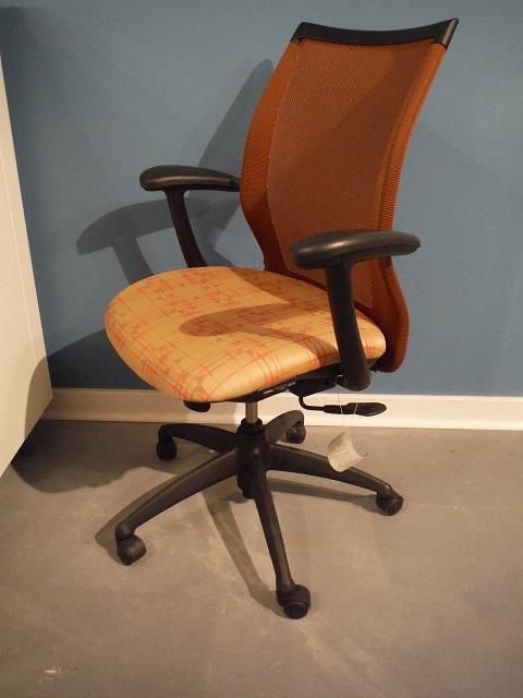 Haworth Improv Conference Chair Orange Office Furniture