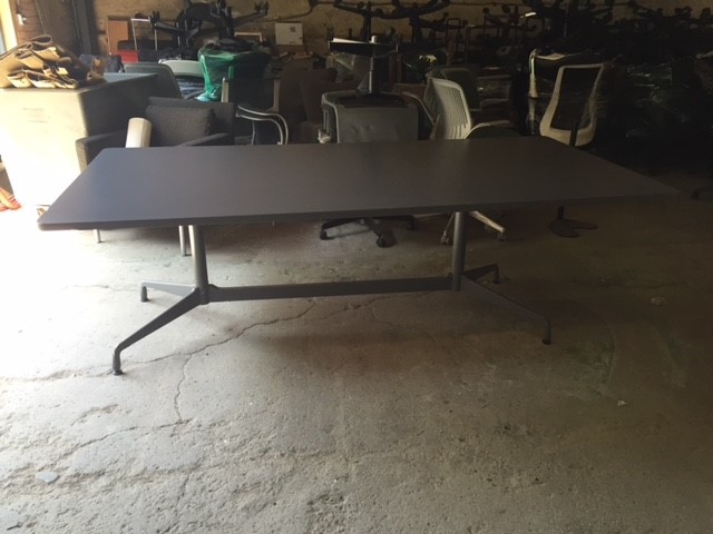 Herman Miller Eames Conference Table Gray