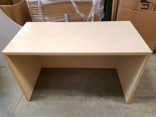 Haworth U Desk Laminate Black Hutch Office Furniture