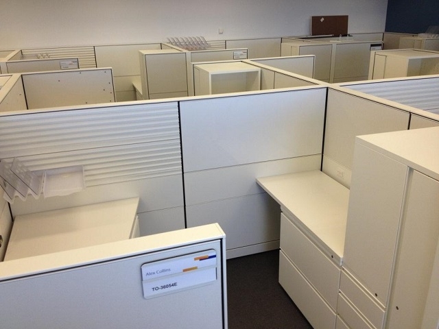 Herman Miller Canvas Work Stations 6 39 X 8 39 Office