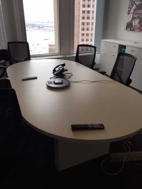 Herman Miller Eames Conference Table Gray Office