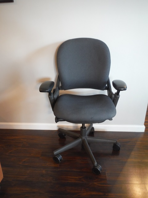 Steelcase Leap V1 Task Chair Grey Office Furniture Albany Ny