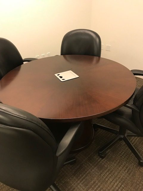 Ofs Round Table Office Furniture Albany Ny