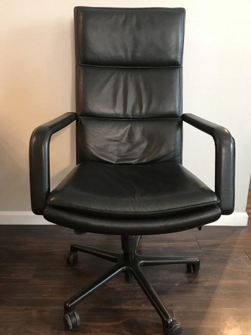 Haworth Improv Conference Chair Green Office Furniture